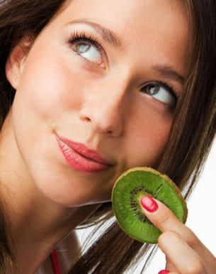 durant votre journée bien-être, jetez-vous sur les fruits et légumes.