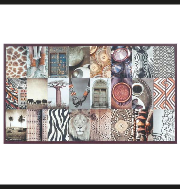 Toile patchwork africain de Maisons du Monde
