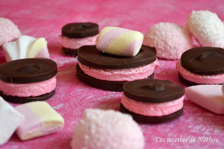 Chamallow au chocolat