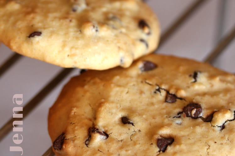 Cookies au son d'avoine et pépites de chocolat