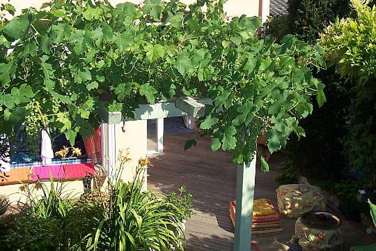 Une porte vers la terrasse - Porte terrasse ...