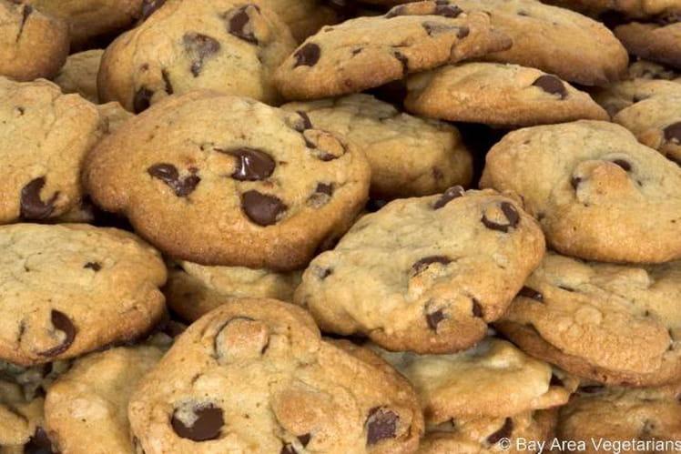 Cookies aux pépites de chocolat blanc et noir