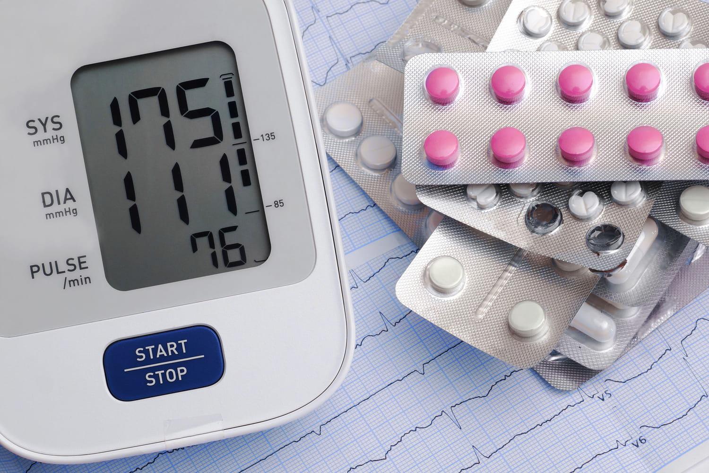 Antihypertenseurs: naturel, médicament, effets secondaires