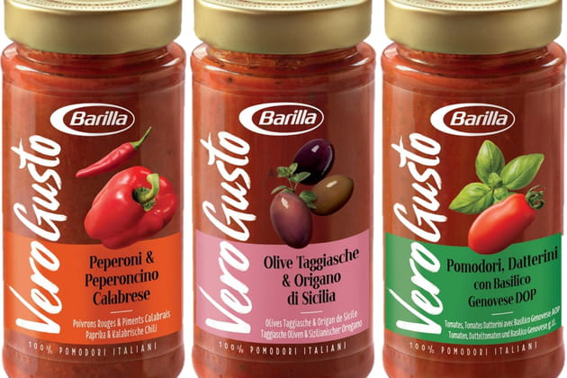 VERO GUSTOTM, la nouvelle gamme de sauces Premium de Barilla