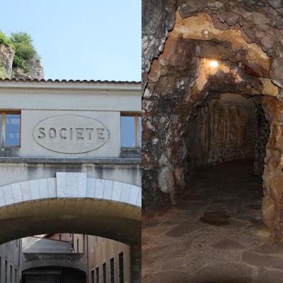 La visite des caves