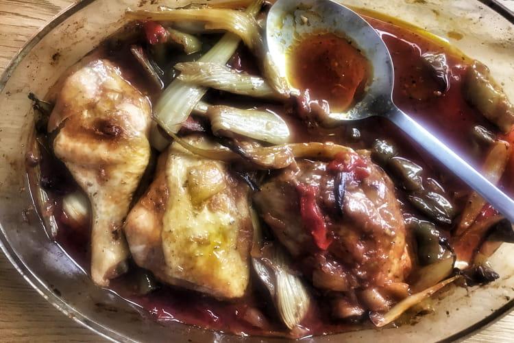 Délice de poulet à la sauce soja