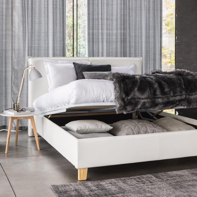 lit coffre pillow de maisons du monde. Black Bedroom Furniture Sets. Home Design Ideas