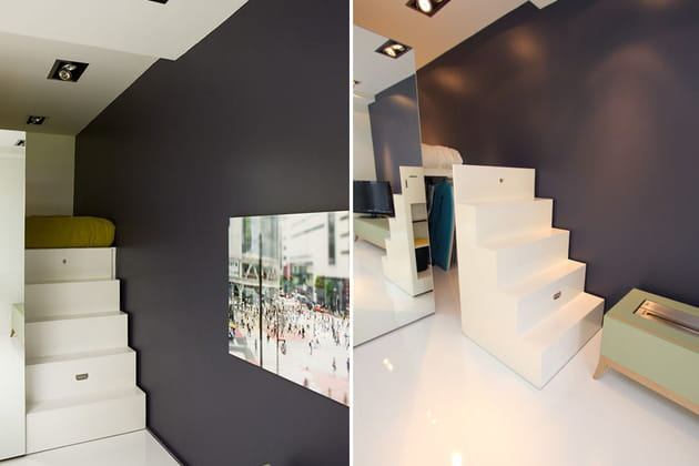 Un escalier modulable