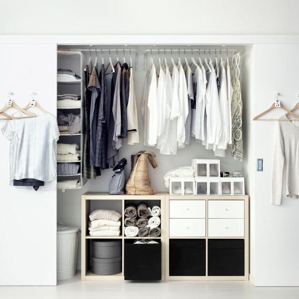 bien clairer le dressing. Black Bedroom Furniture Sets. Home Design Ideas