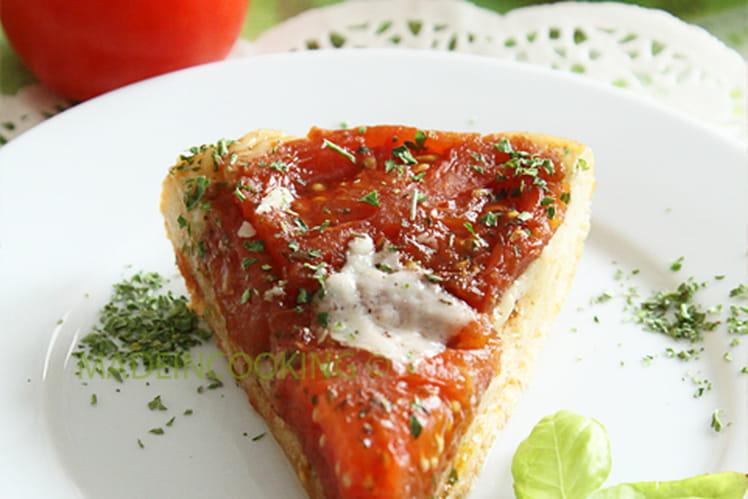 Tarte tatin aux tomates