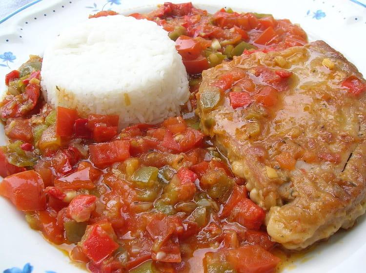 Recette De Thon à La Basquaise La Recette Facile - Cuisiner le thon