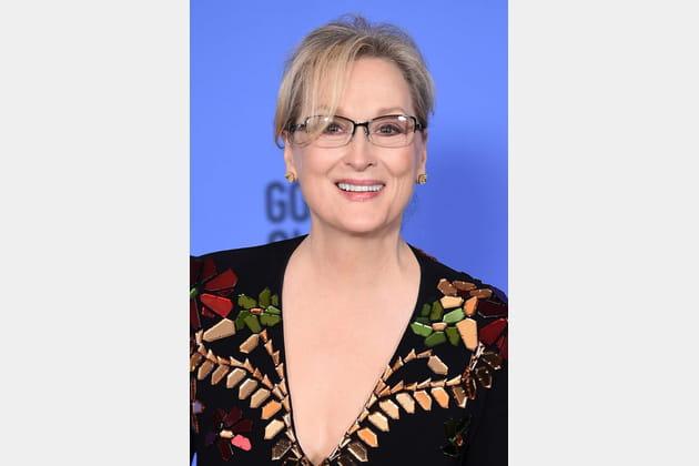 Le chignon élégant de Meryl Streep