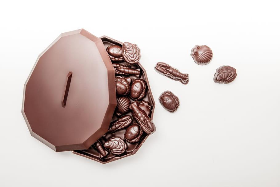 Oeuf bonbonnière de la Manufacture Le Chocolat, Alain Ducasse