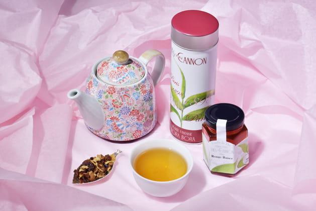 Ensemble de thé de la Maison George Cannon