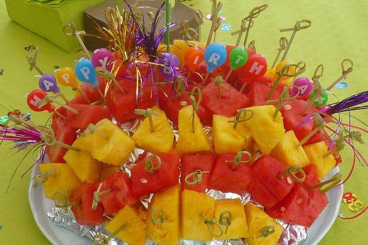 Hérisson ananas/pastèque