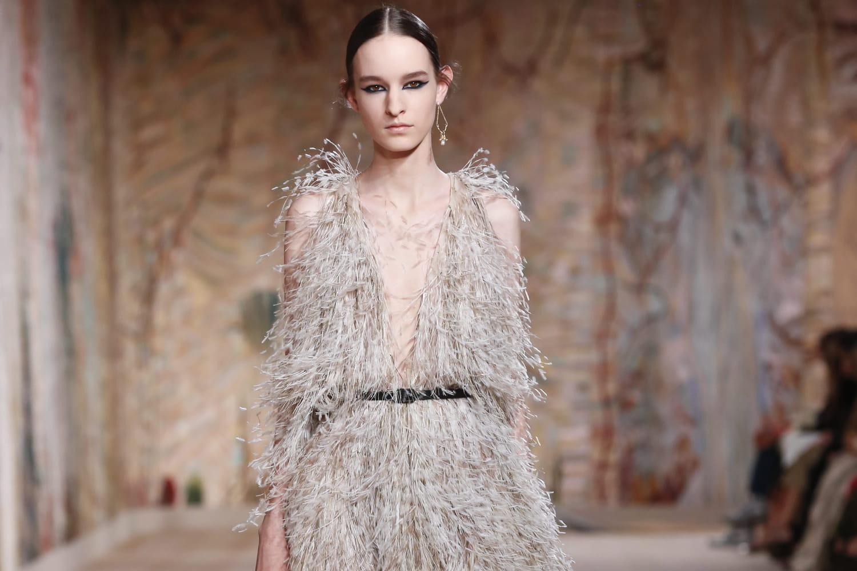 Défilé Dior: visitez le décor du show haute couture à Paris