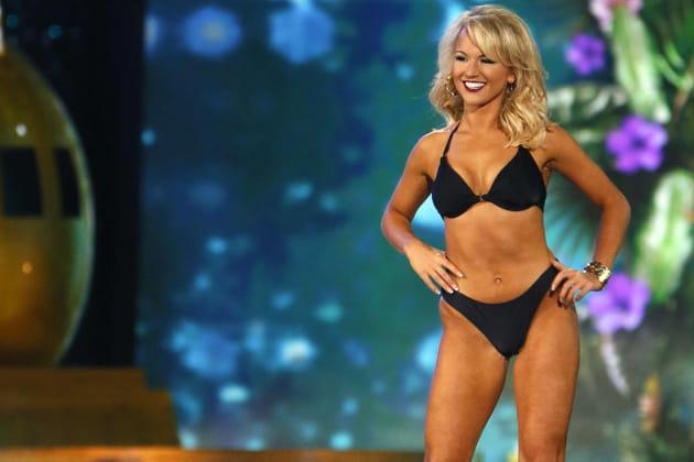 Miss America 2017 en bikini