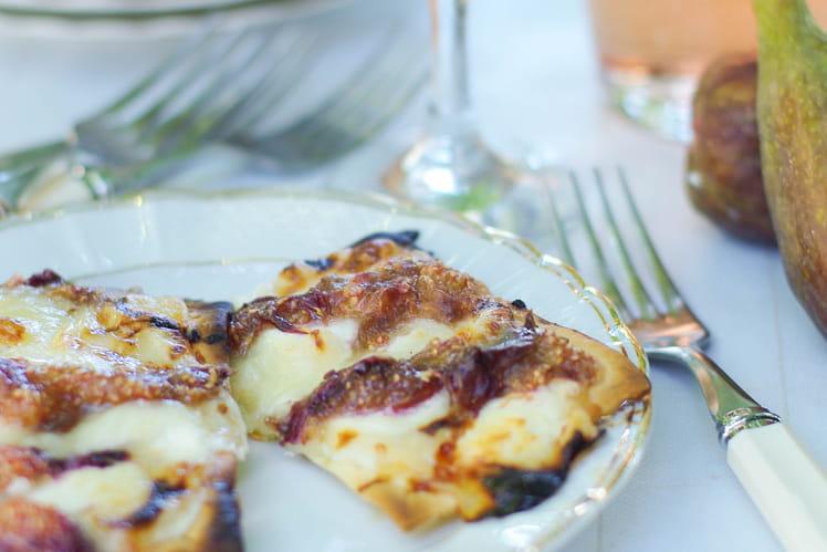Tartelettes figues miel et chèvre