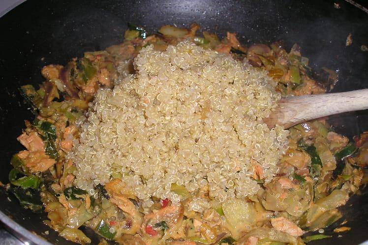Thon au wok