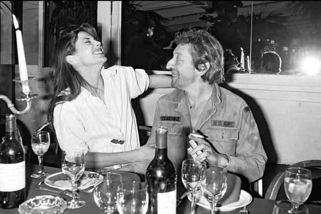 Jane Birkin et Serge Gainsbourg au Palace à Paris, 1979