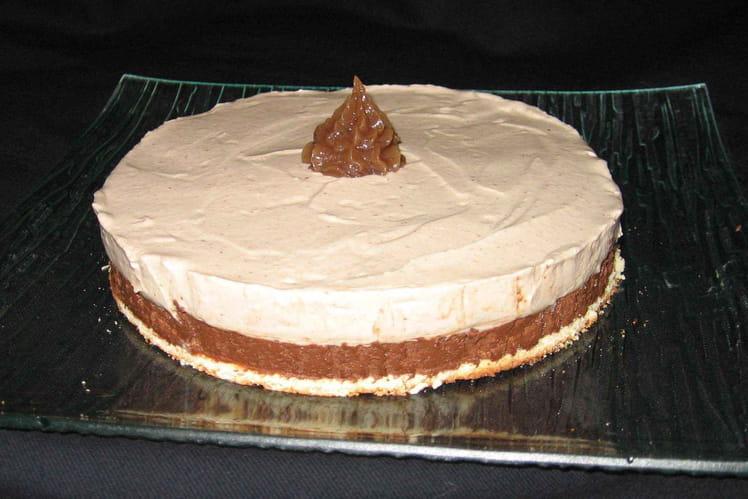 Délice aux de mousses chocolat-marron