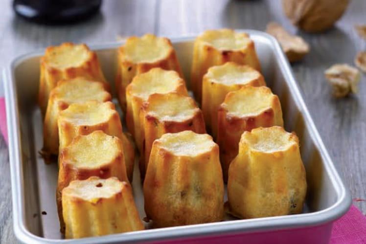 Cannelés au fromage de chèvre et Knacki ®