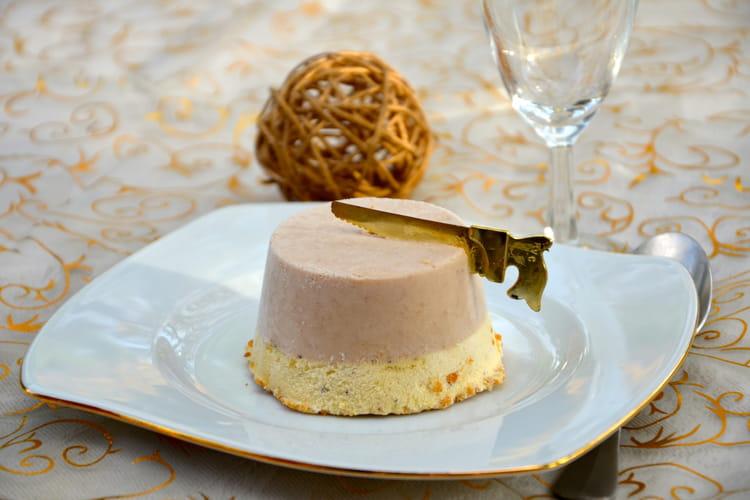 Parfaits glacés vanille/marron