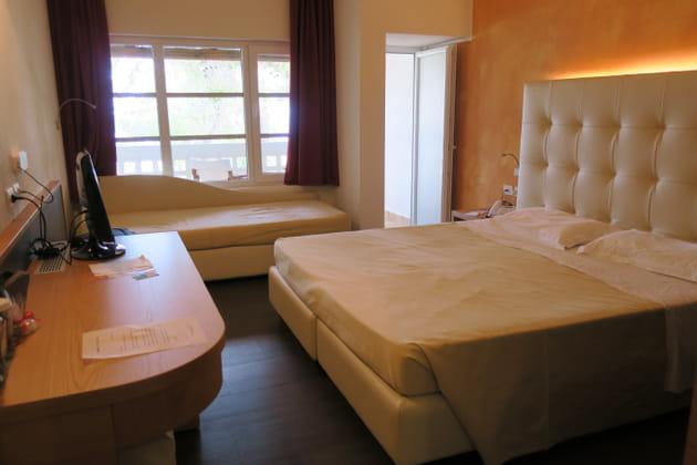 Des chambres chaleureuses