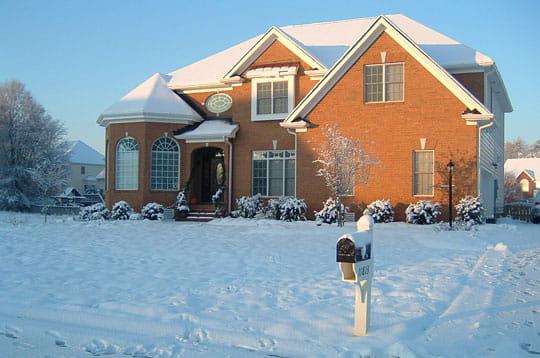 L'hiver à Glen Allen