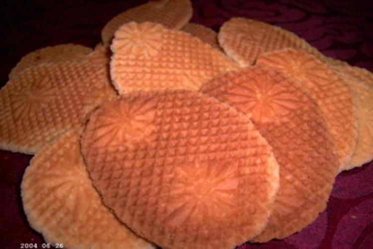 Gaufres sèches