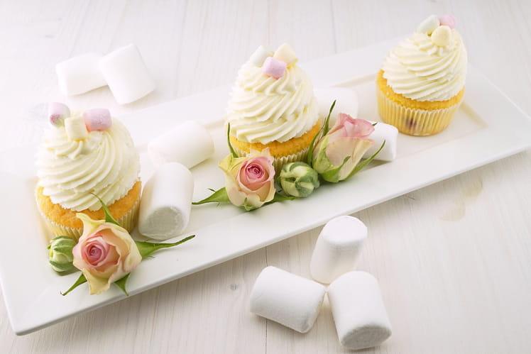 Cupcakes tout simple à la vanille