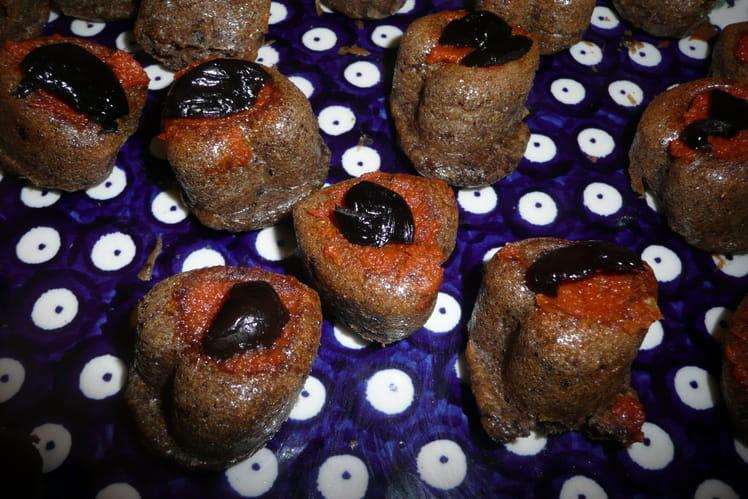Minicakes aux olives