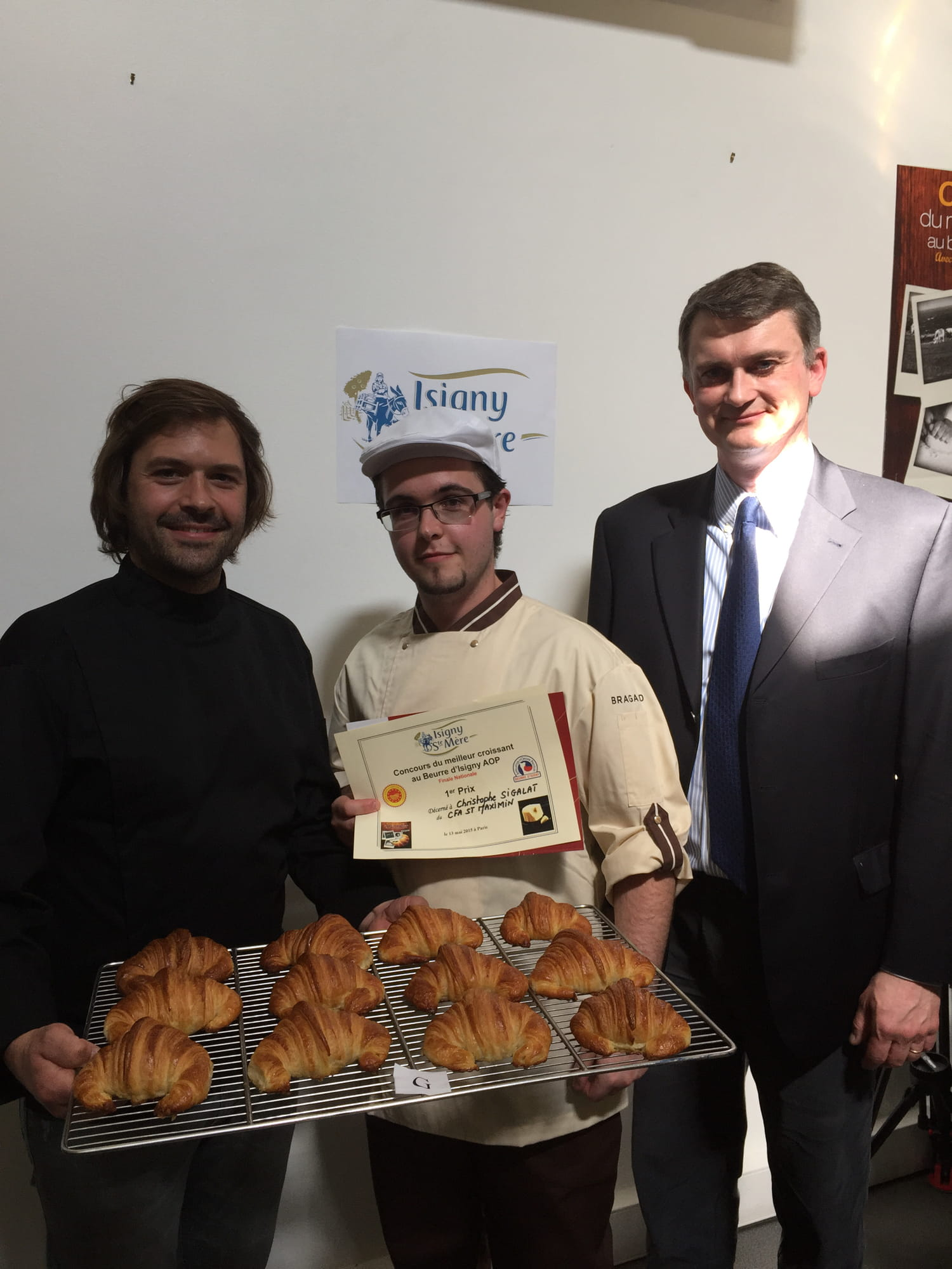 Concours National du Meilleur croissant au Beurre d'Isigny