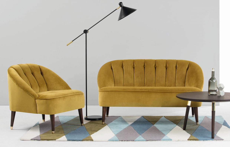 canap margot par matt arquette pour. Black Bedroom Furniture Sets. Home Design Ideas