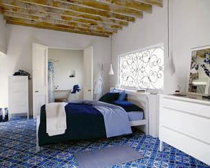 chambre à coucher d'habitat