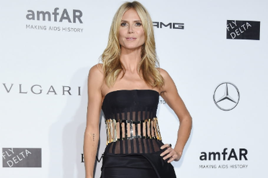 Le look people du jour : Heidi Klum, bluffante