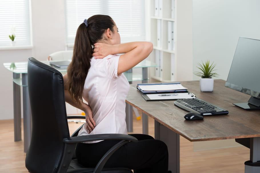 Comment éviter les douleurs au travail?