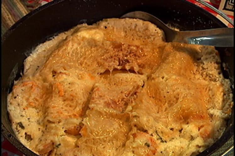 Omelettes roulées aux épinards