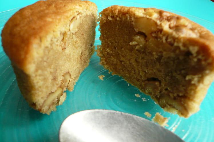 Muffins café et noix