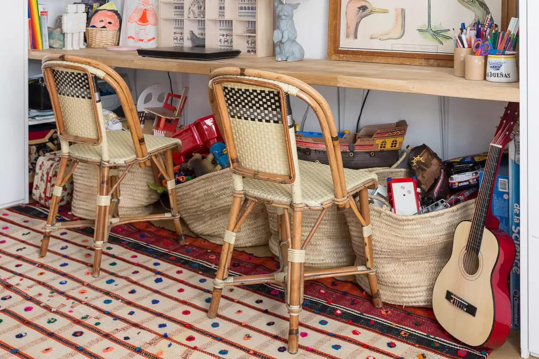 Chaise Fouquet's Drucker: l'assise vintage en rotin par excellence