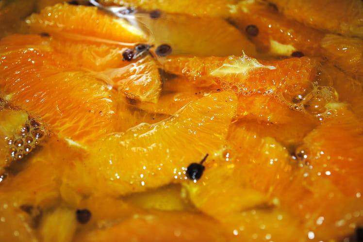 Suprêmes d'oranges safranées au poivre de Sichuan