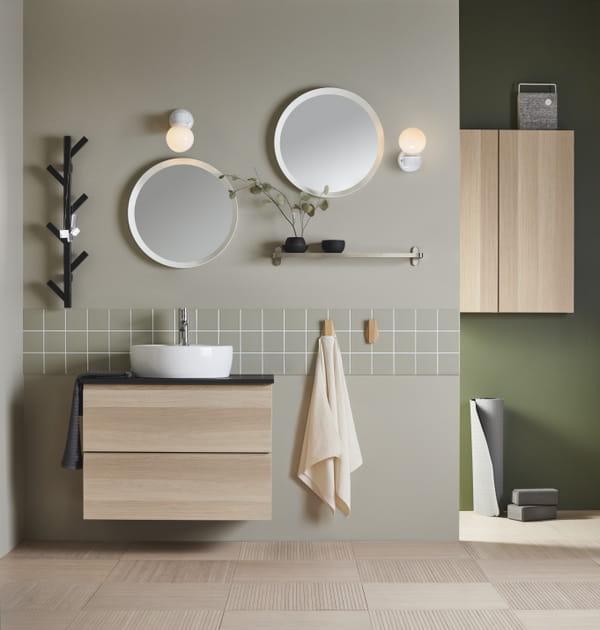 Miroirs ronds Langesund d'IKEA