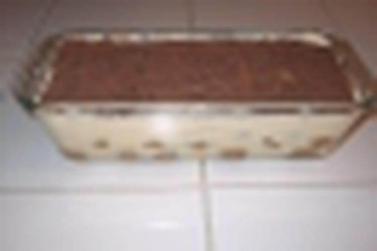 Tiramisu framboise Nutella