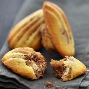 madeleines au nutella®