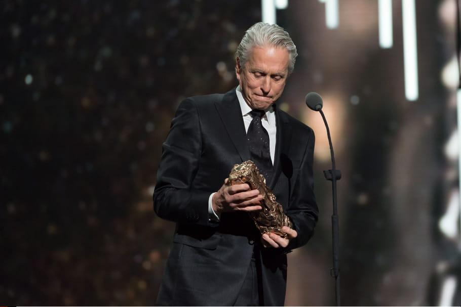 Michael Douglas a reçu un César d'honneur pour l'ensemble de sa carrière