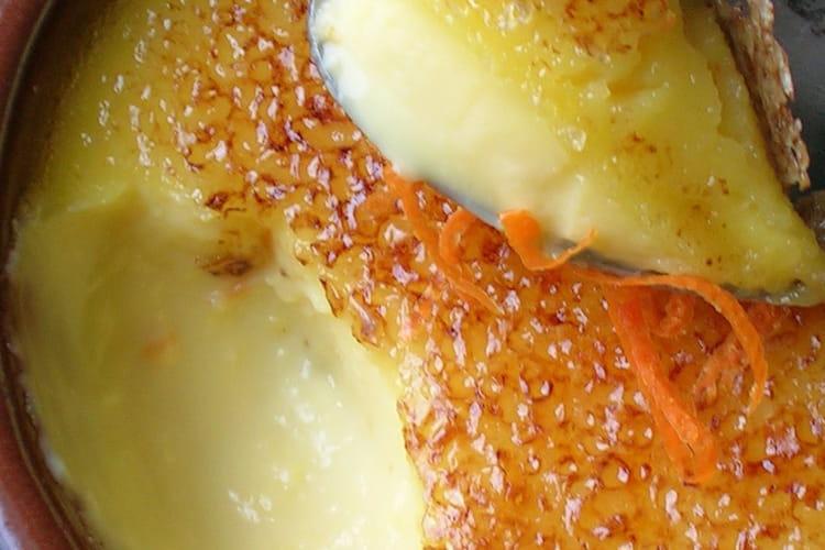 Crèmes brûlées à la mandarine impériale