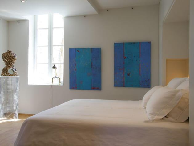 Chambre design et arty