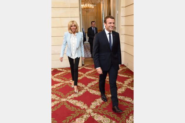 Brigitte Macron le 25juillet 2017