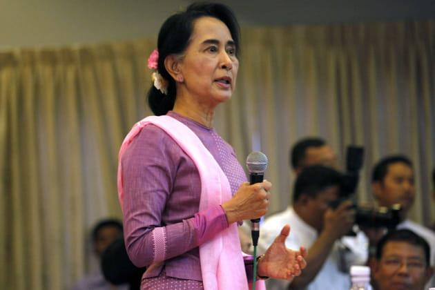 Il admire Aung San Suu Kyi
