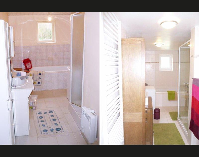 Avant-après: une salle de bains relookée et zen